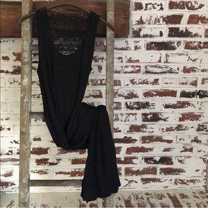 Kenneth Cole Reaction black maxi dress